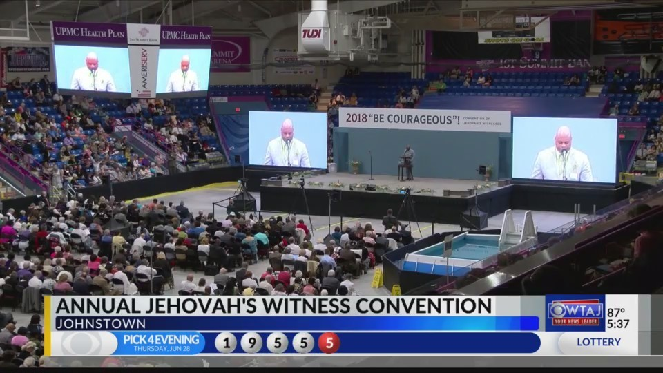 2018 Jehovah's Witnesses convention in Johnstown