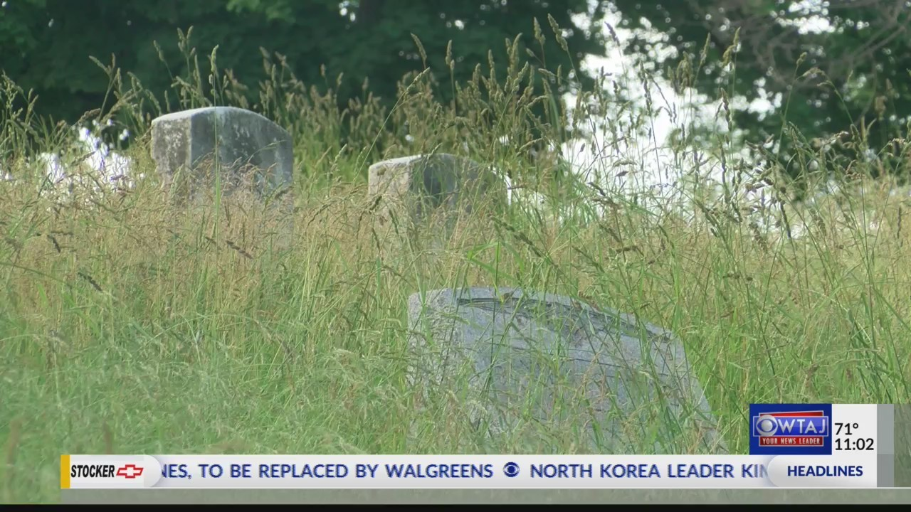 Fairview Cemetery clean up