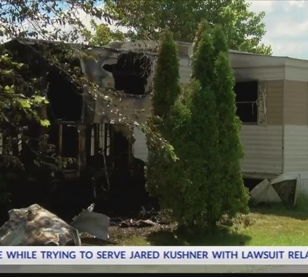 11th mobile home arson in Somerset