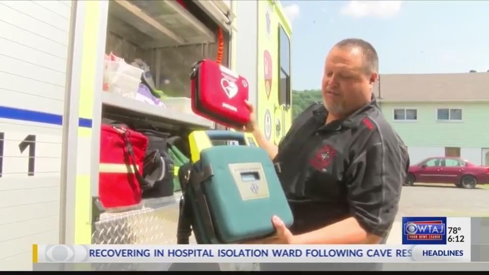 Volunteer fire company granted life-saving equipment