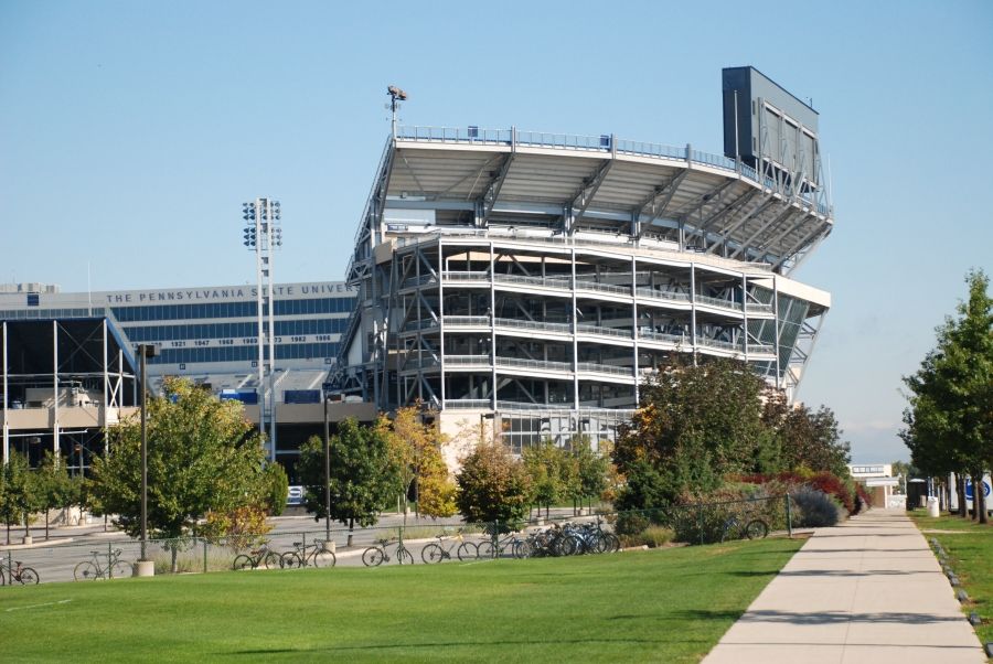 Game Day Parking Exhausted For Psu Ohio Game