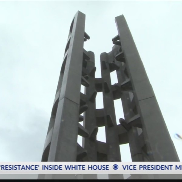 Flight 93 Tower of Voices dedication ceremony