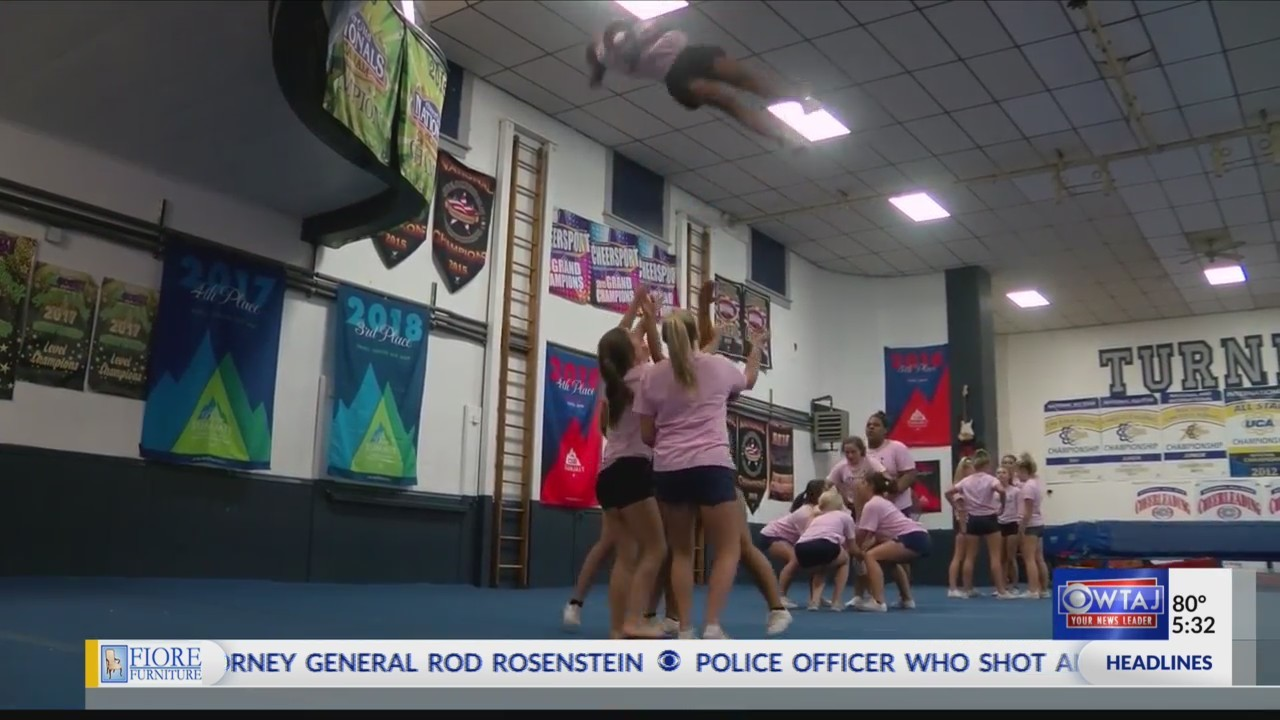 Johnstown cheerleading team taking competition to the next level