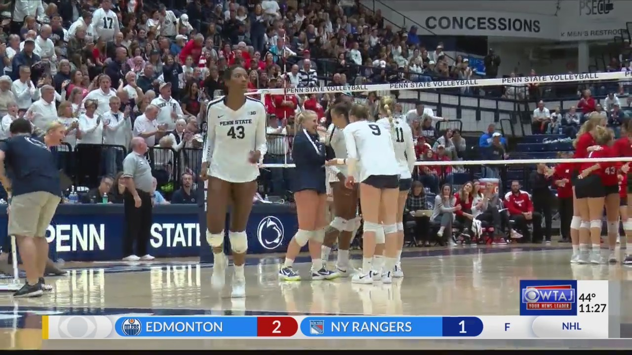 Penn State Women's Volleyball takes down 5th ranked Nebraska