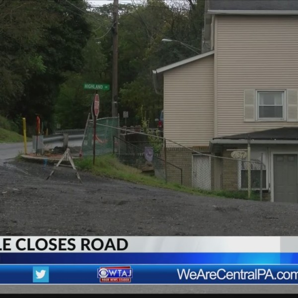Sinkhole closes Johnstown road again