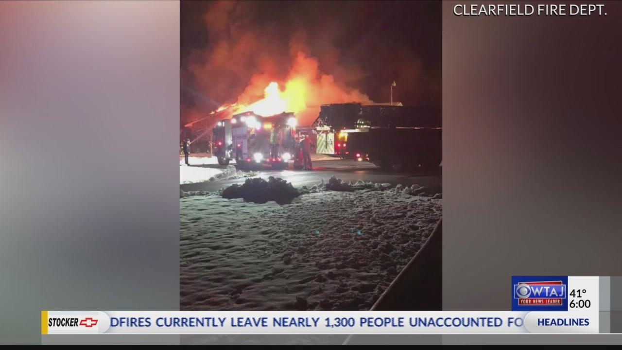 Fire destroys local church
