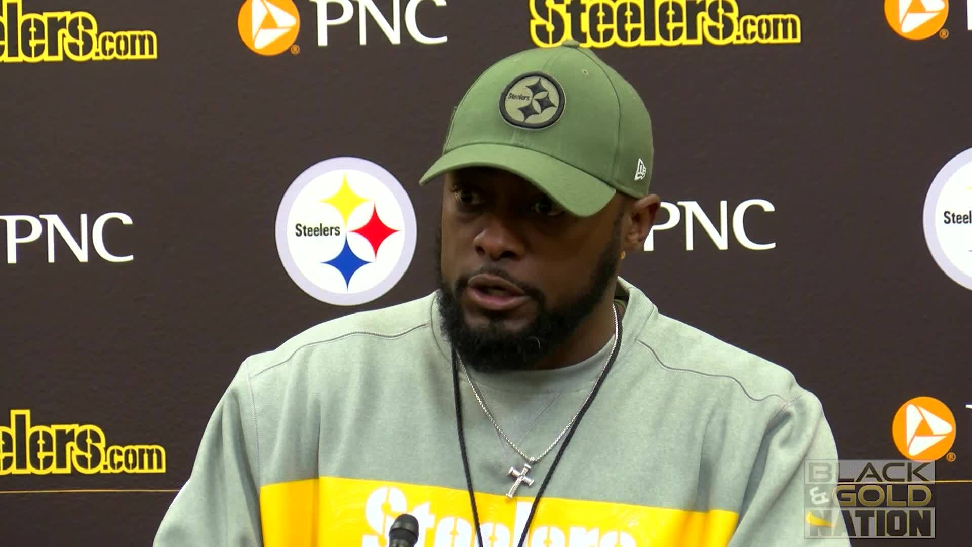 Mike Tomlin Press Conference, Monday 11/15/2018