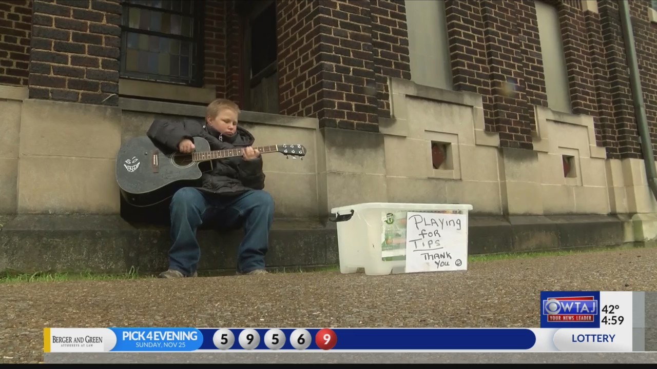 Music helping troubled teen with intellectual disabilities