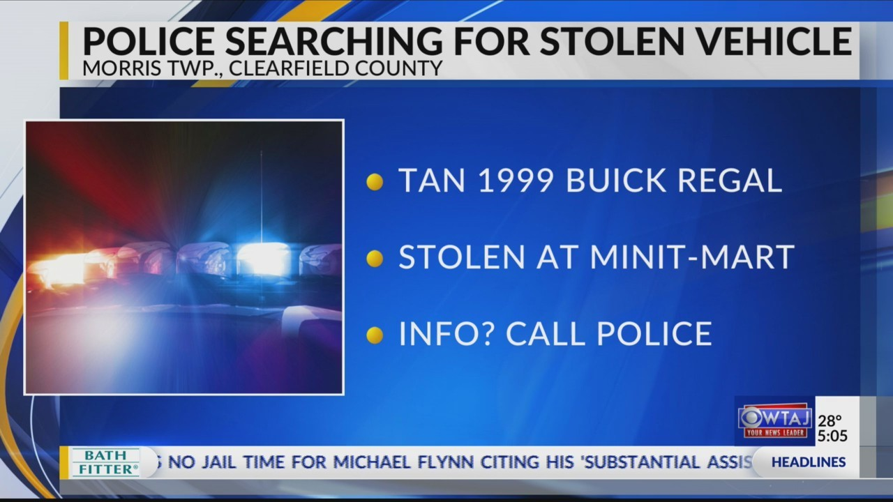 Police searching for stolen vehicle