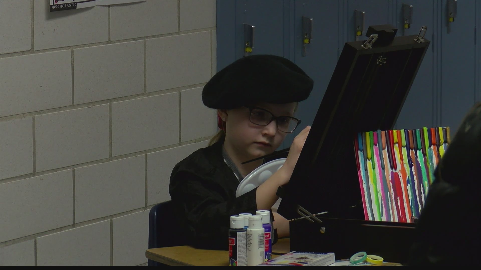 Bennetts Valley Elementary Wax Museum