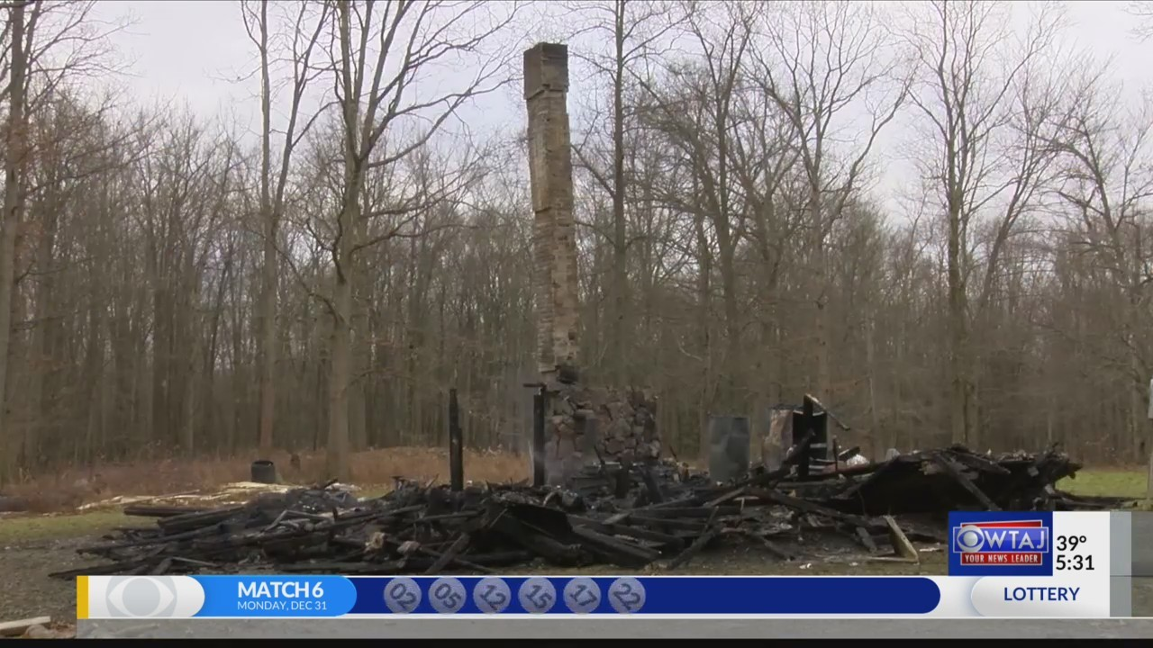 Clearfield County house destroyed by fire