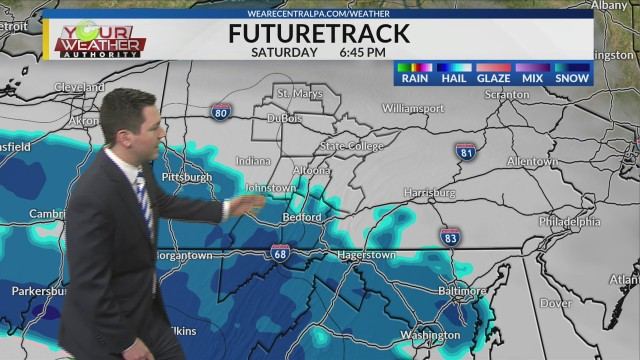 Friday Afternoon Weather Forecast, Jan 11th, 2019