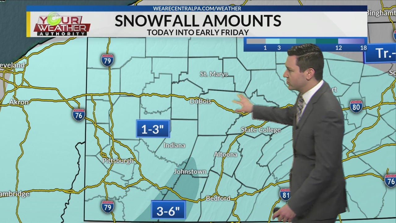 Thursday Afternoon Weather Forecast, Jan 17th, 2019