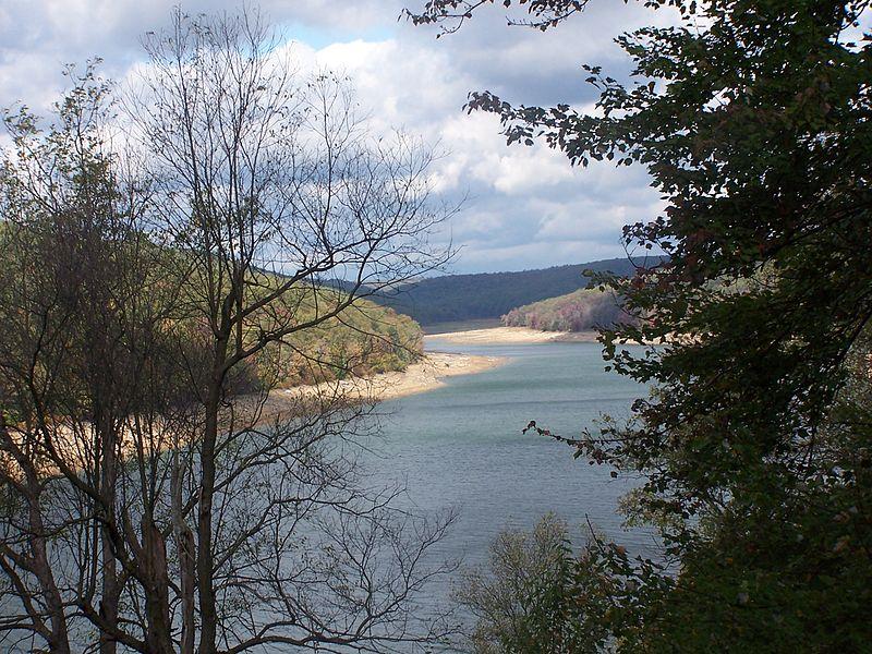 East Branch Clarion River Lake at Elk State Park