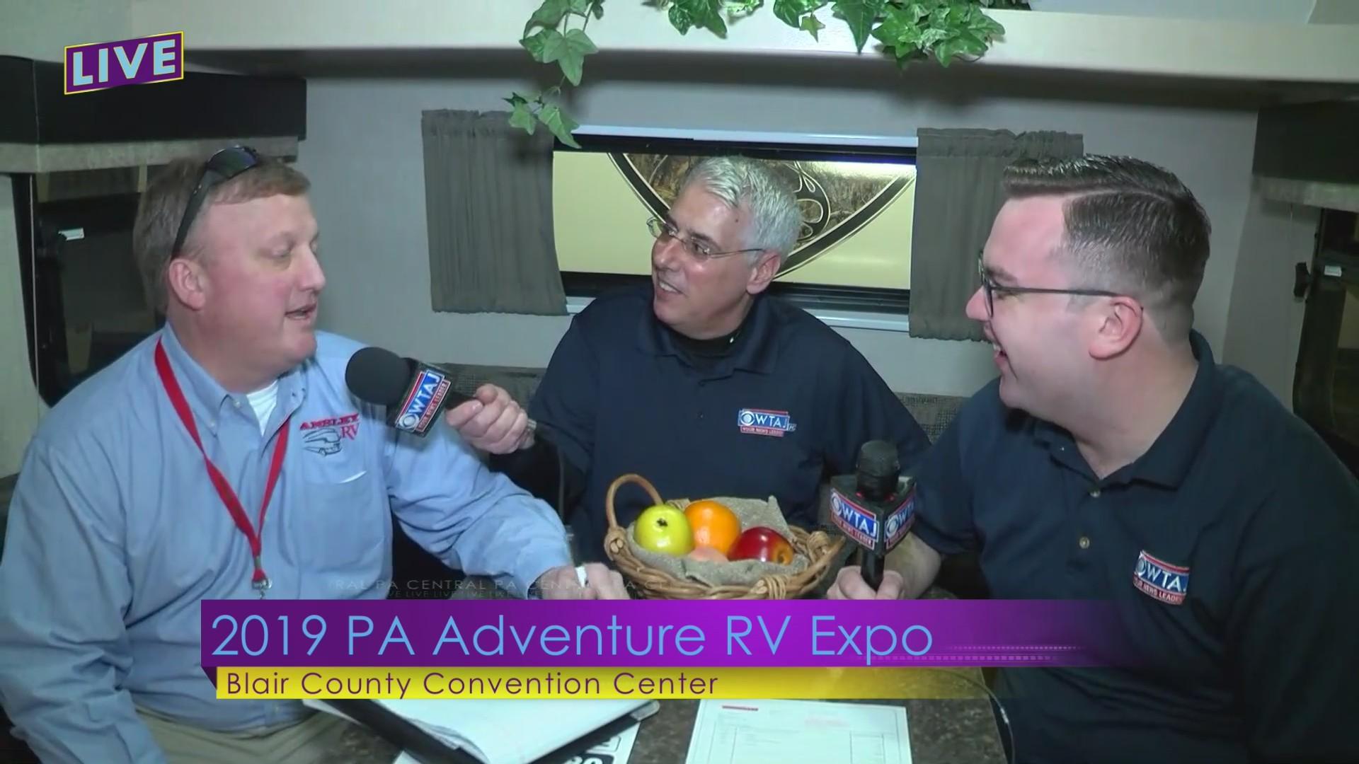 2-22 PA Adventure RV Expo: Ansley RV