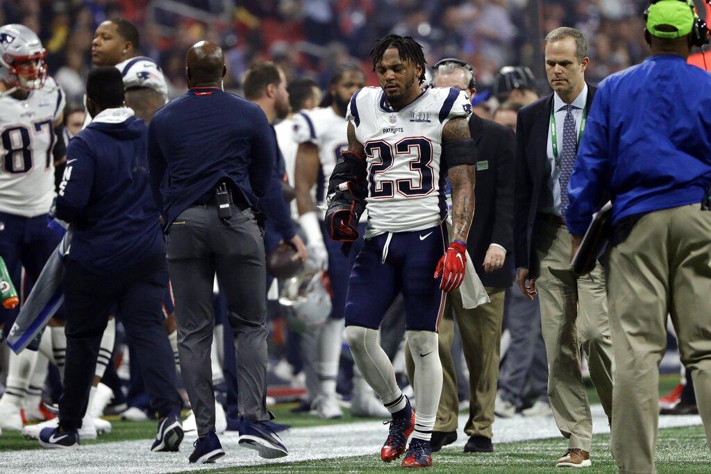 Patriots Rams Super Bowl Football_1549246676925