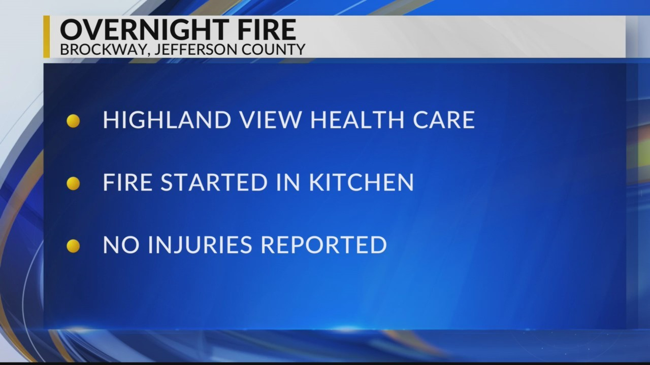 Fire Ruled Arson in Jefferson County