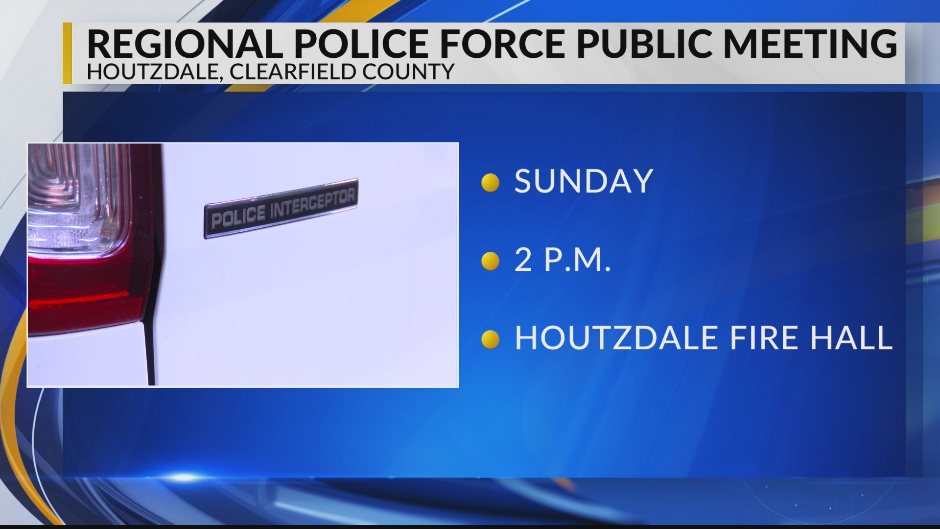 Houtzdale considers joining regional police force