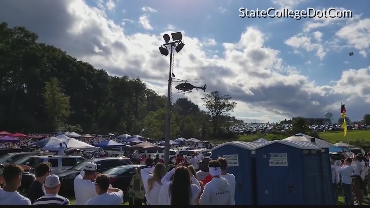 PSU Tailgate Charges
