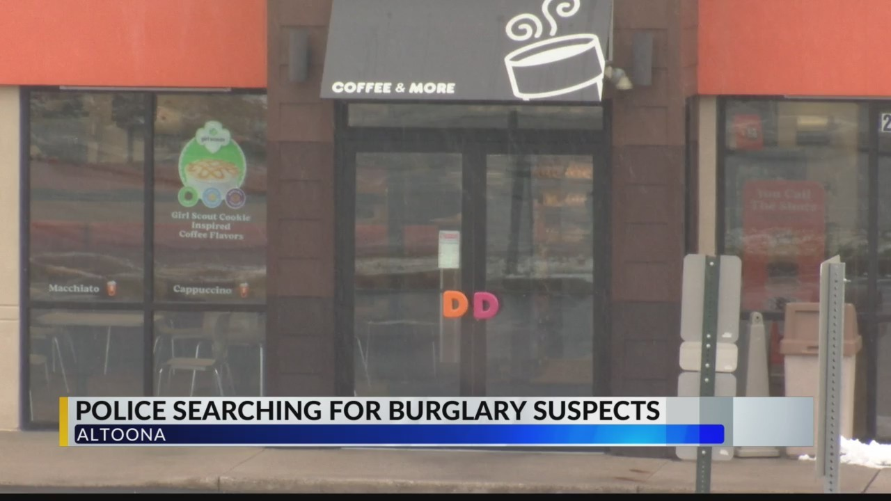 Police searching for burglary suspects
