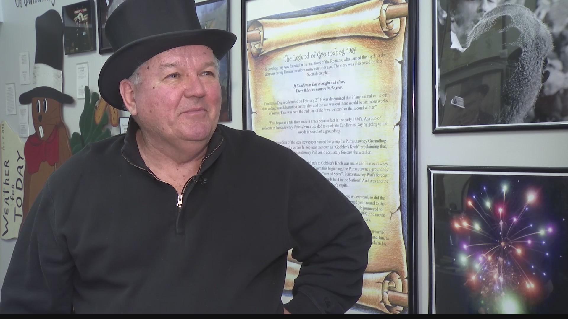 Under The Top Hat: Groundhog Club President