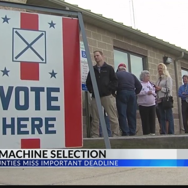 voting machine selection