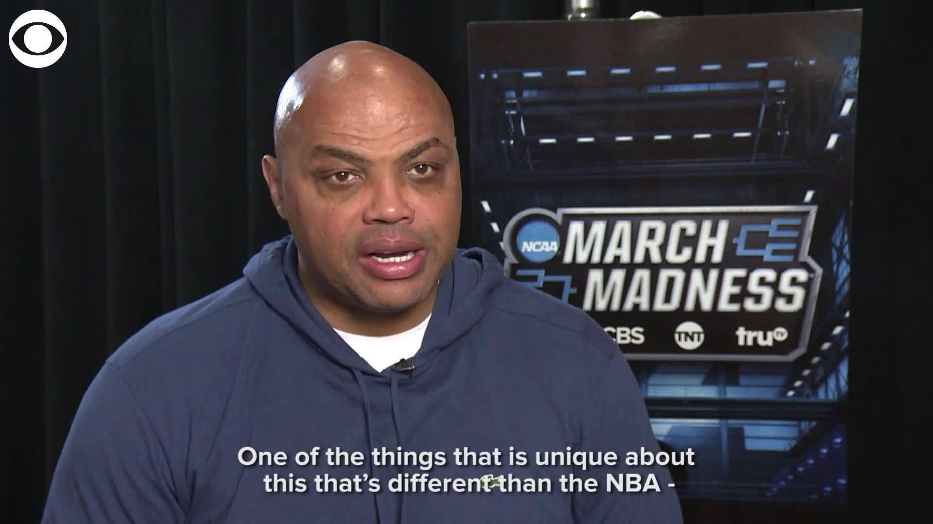 Barkley on NCAA