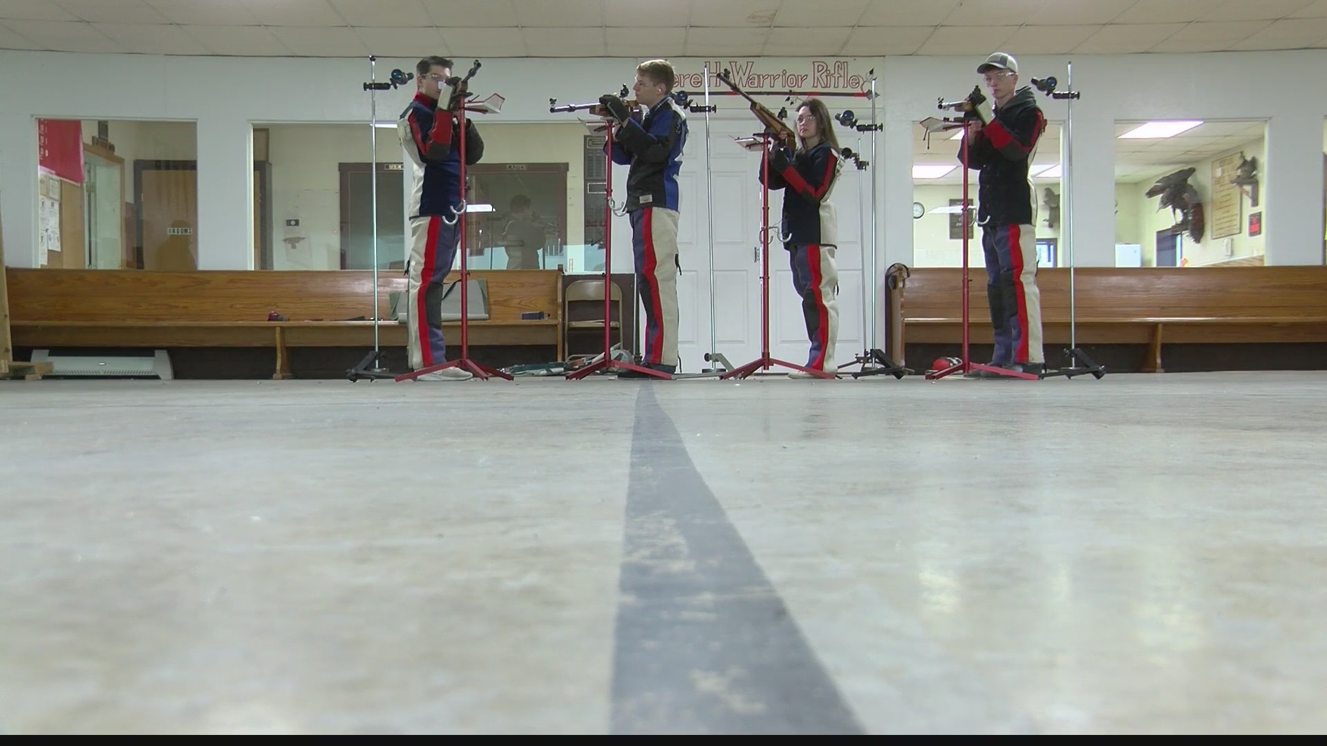 Everett rifle team wins third state championship