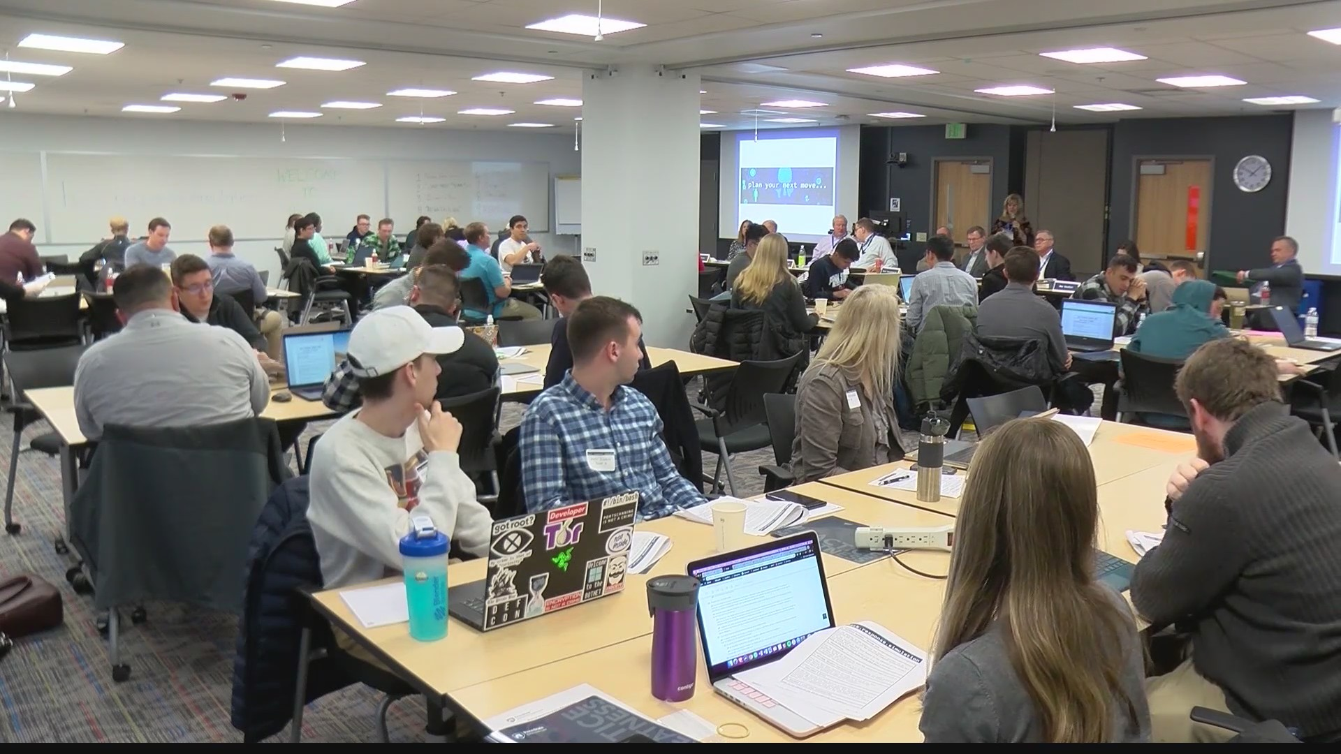 How should an organization respond when they're hacked? PSU Students learn during simulation