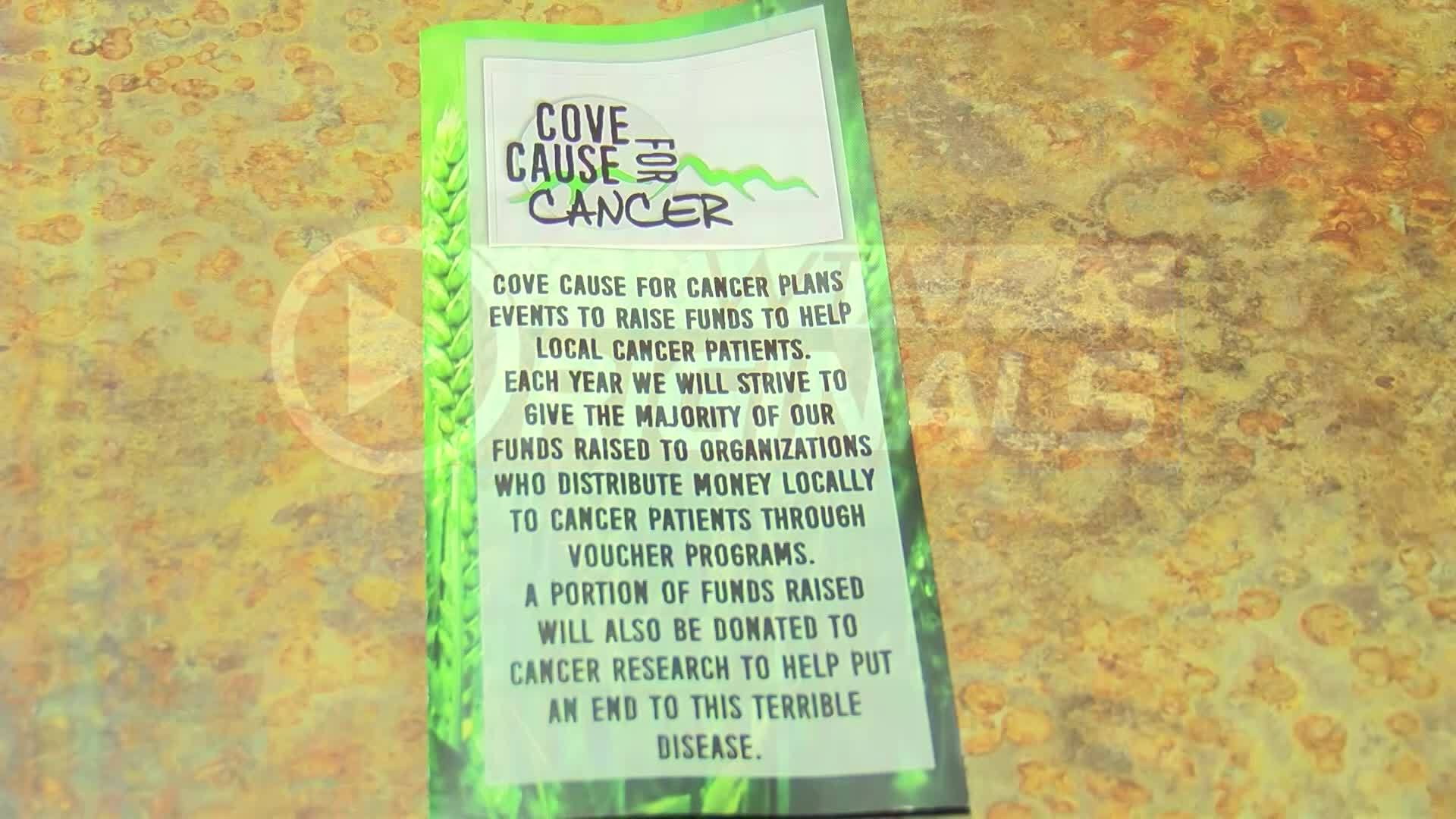 Organization raising money for cancer patients in the area