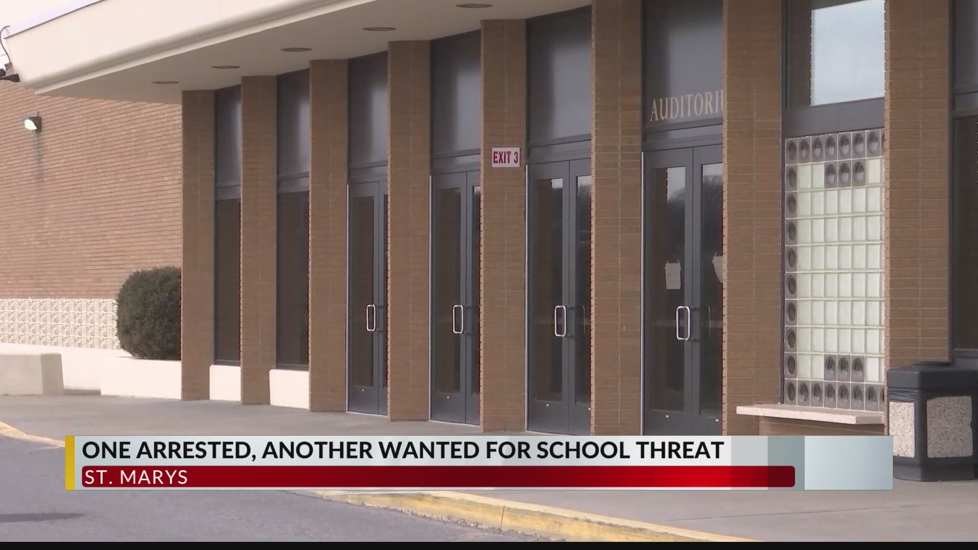 St. Marys school district alert