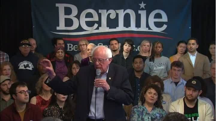 Backlash over Sanders stance on voting