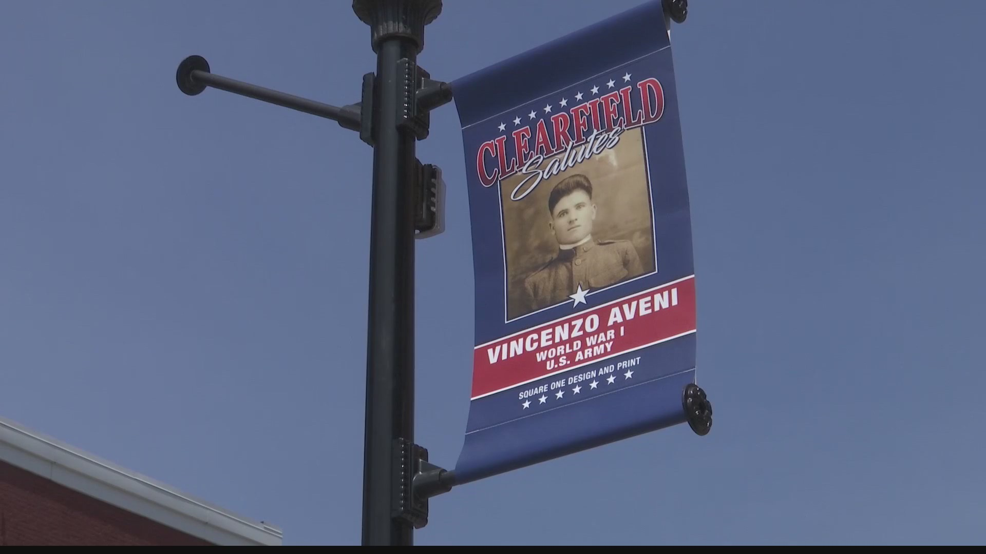 Banners to honor service members