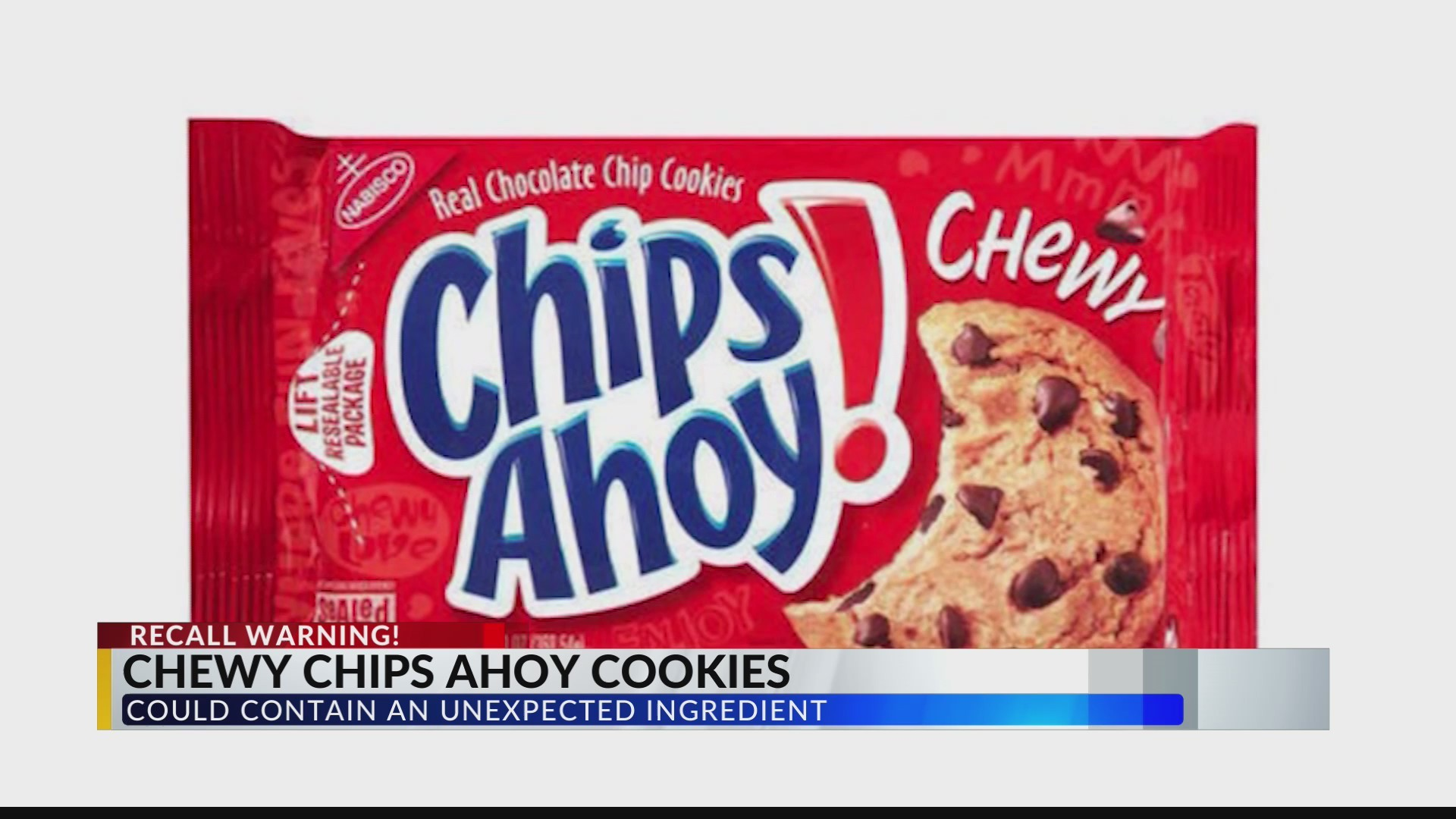 Chips ahoy recall