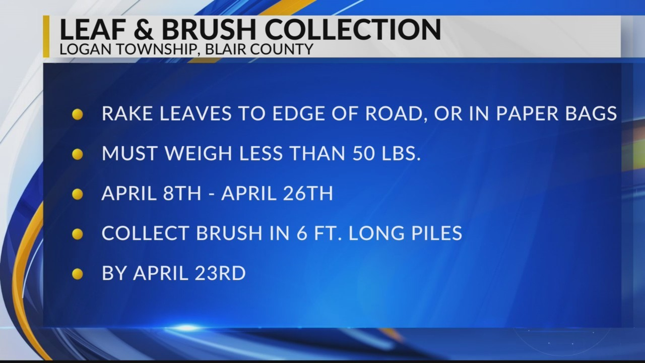 Logan Twp. Leaf and Brush collection