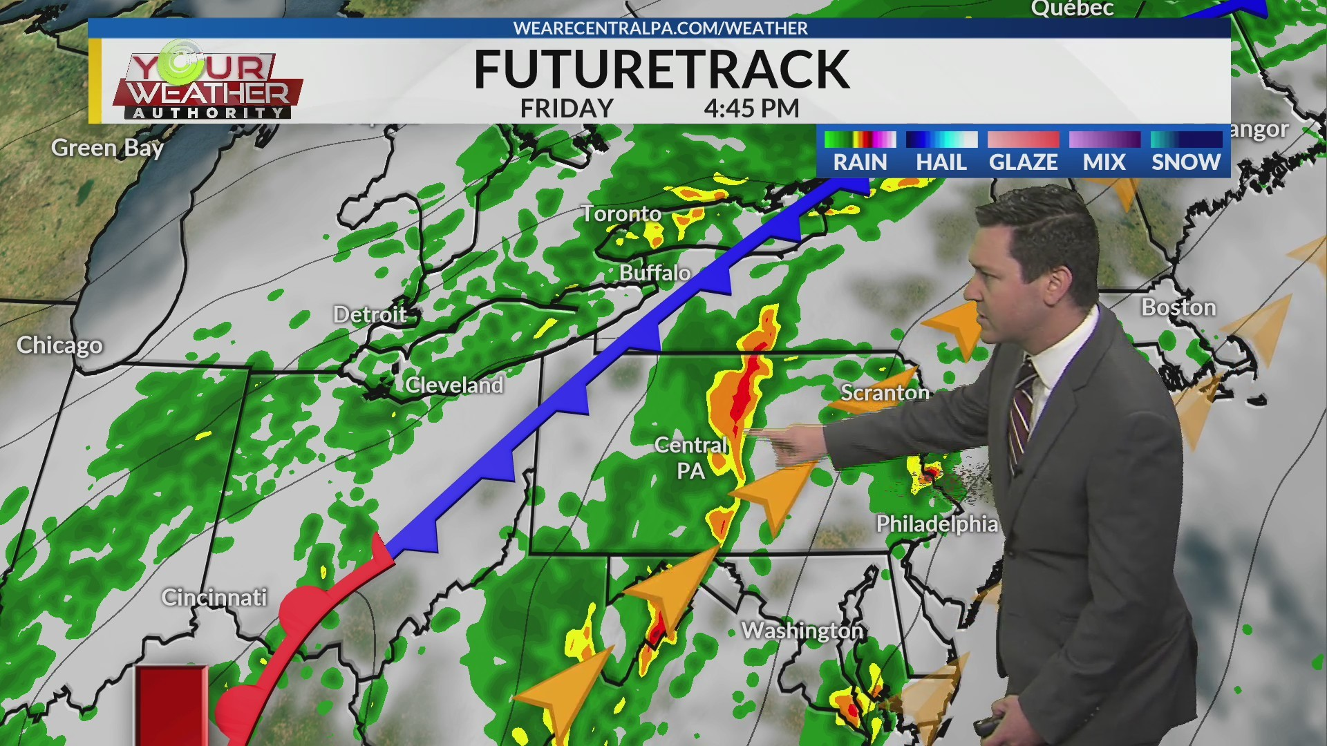 Thursday Afternoon Weather Forecast, April 18th, 2019