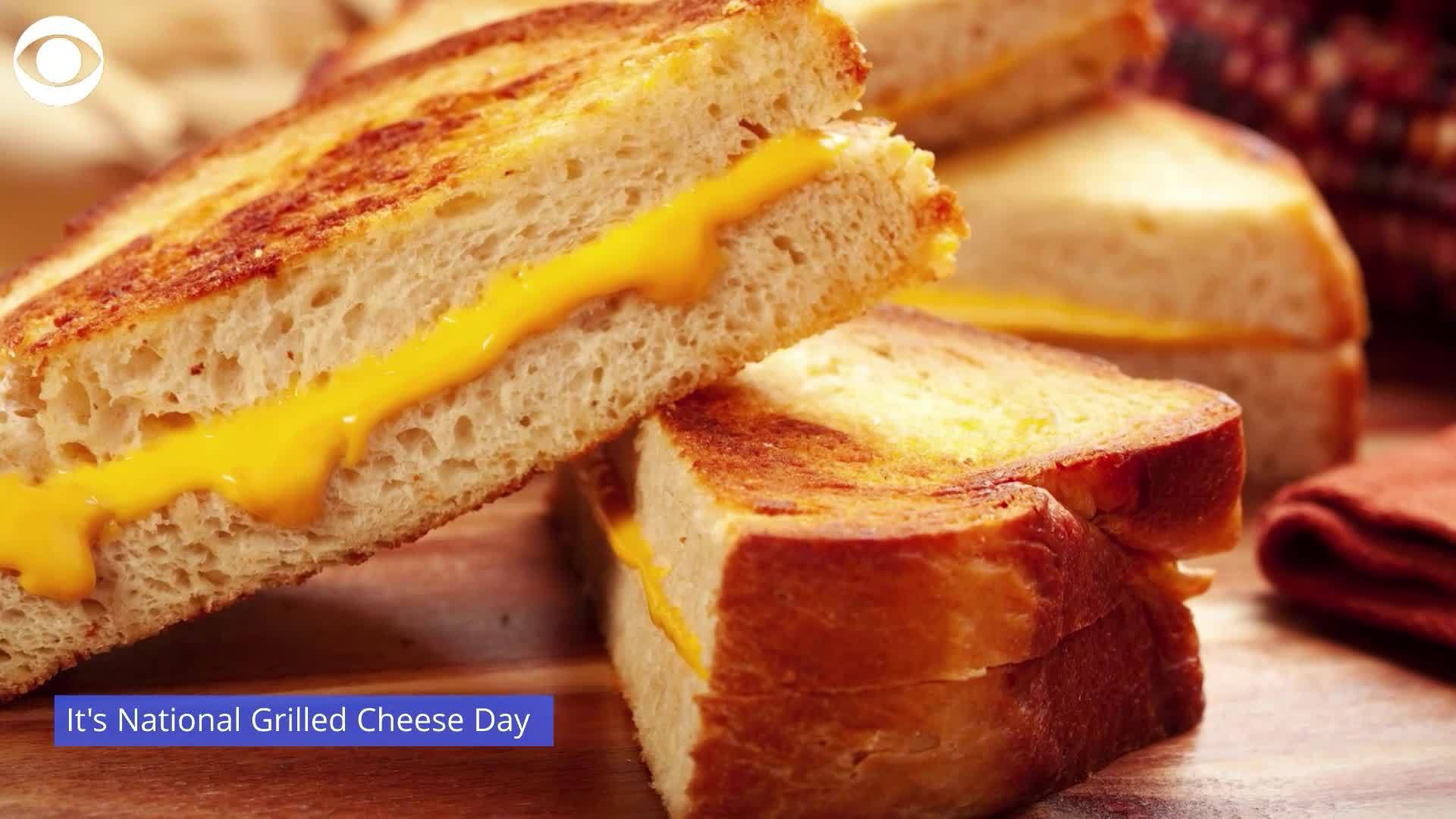 WEB EXTRA: National Grilled Cheese Day