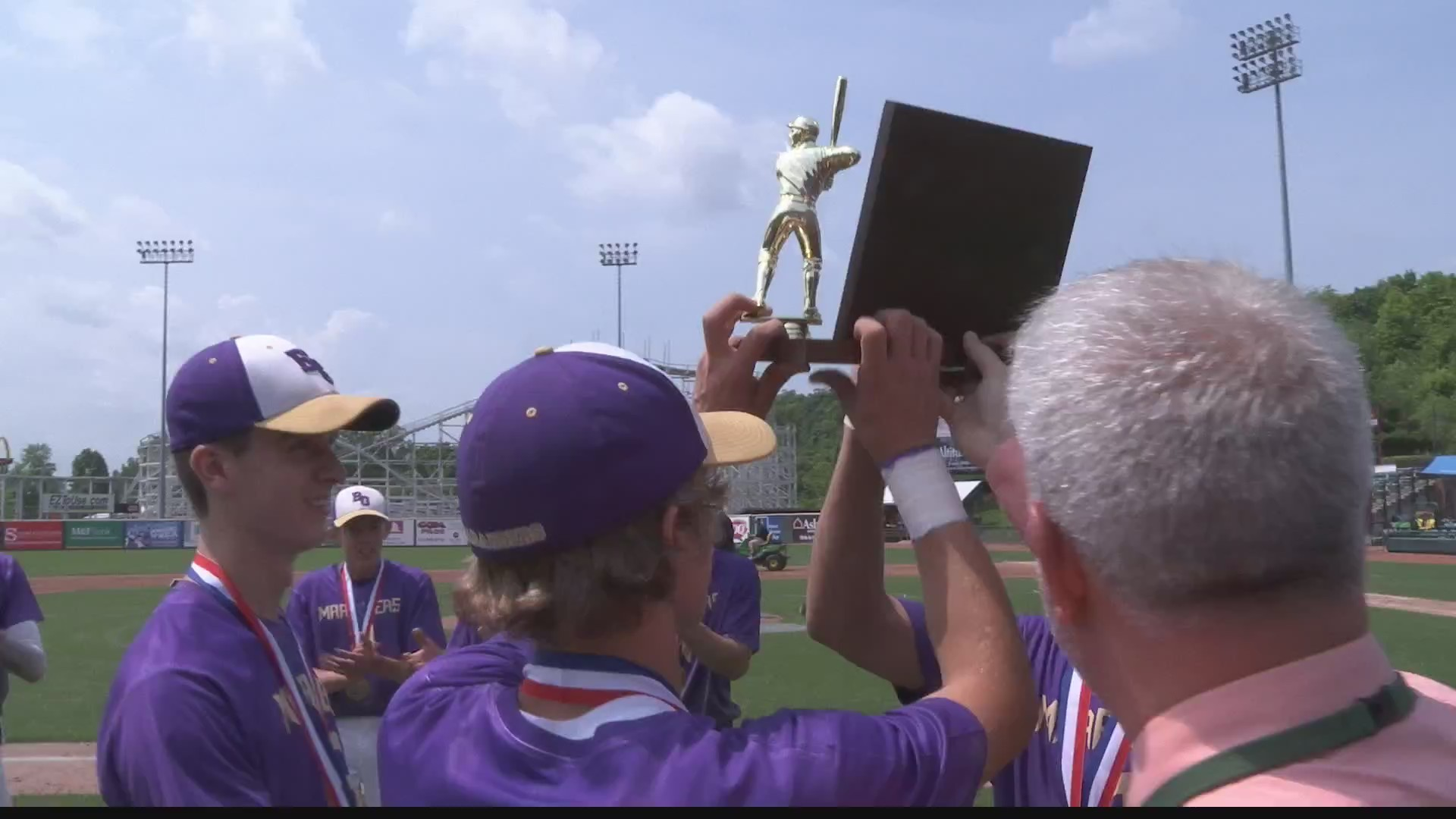 Bishop Guilfoyle baseball makes history, winning first ever district title