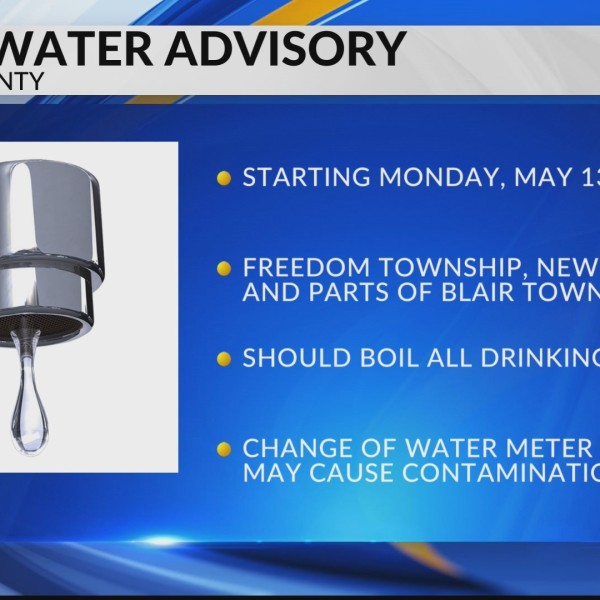 Boil water advisory in Blair County
