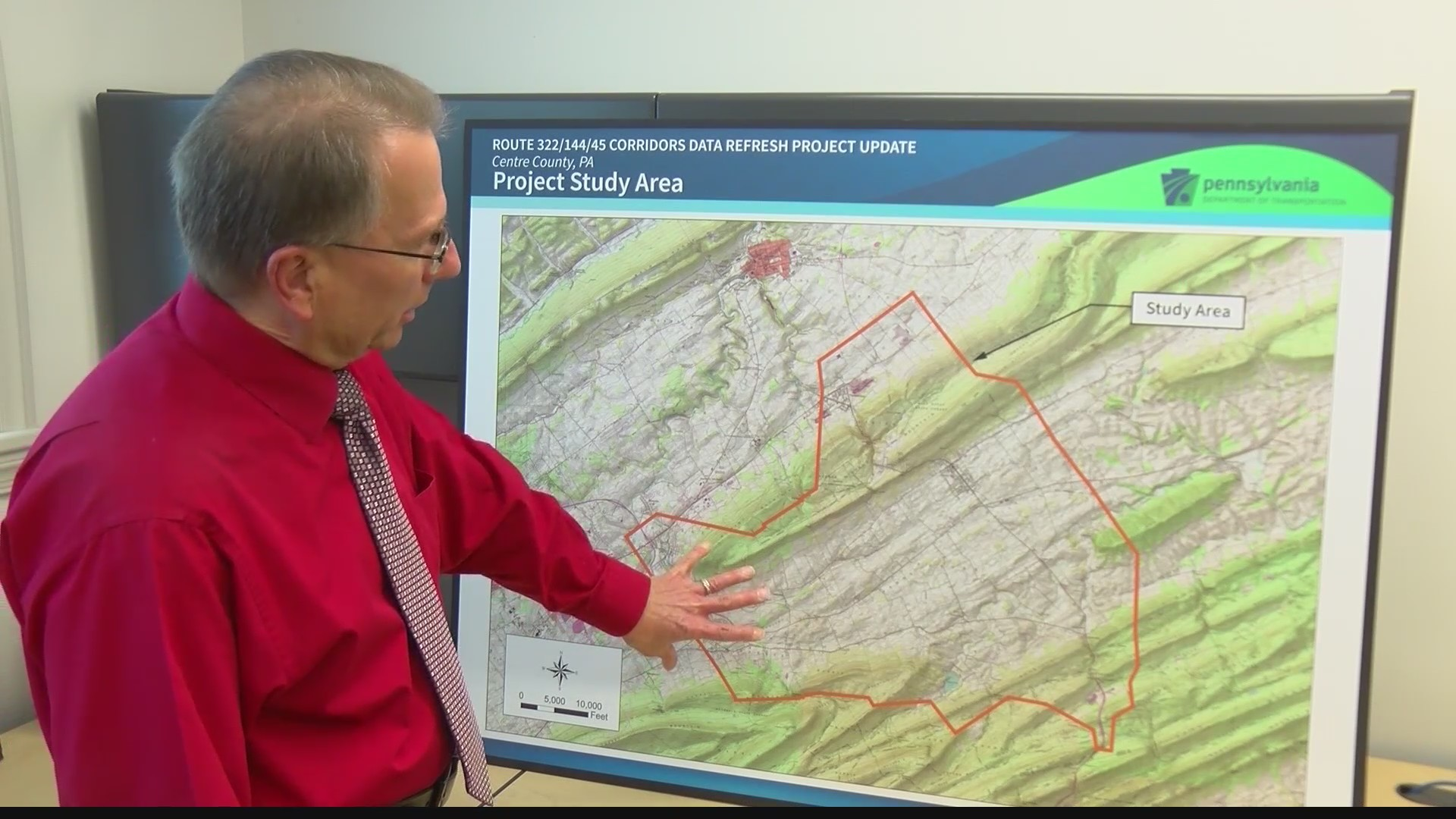Centre Co. Metropolitan Planning Org. may give $20 million to PennDOT for improvement of three popular roads...
