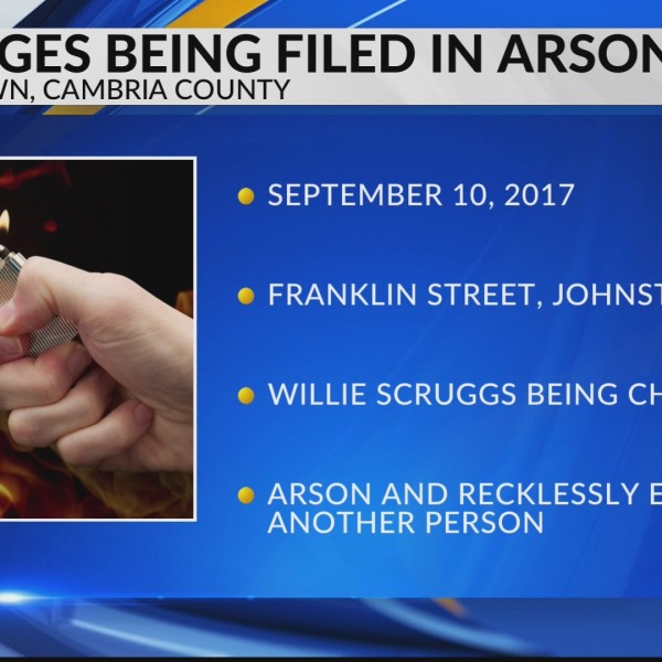 Charges are being filed in arson case