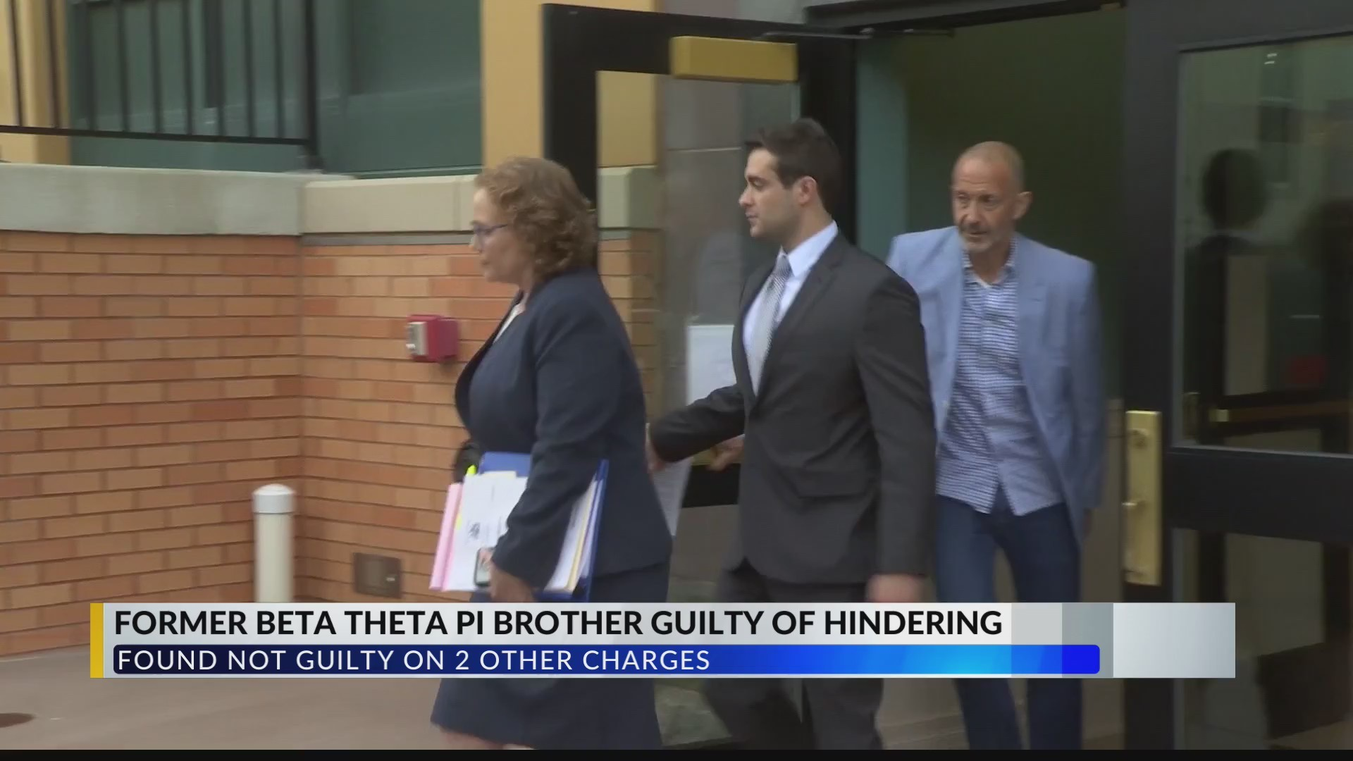 Former Beta Theta Pi Brother Found Guilty of Hindering... Acquitted of Tampering with Evidence and Obstruction