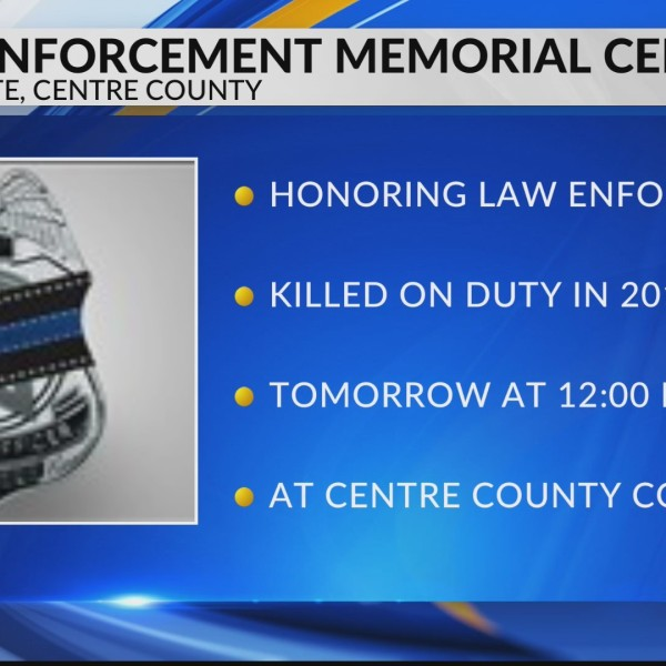 Law Enforcement Ceremony for National Police Week