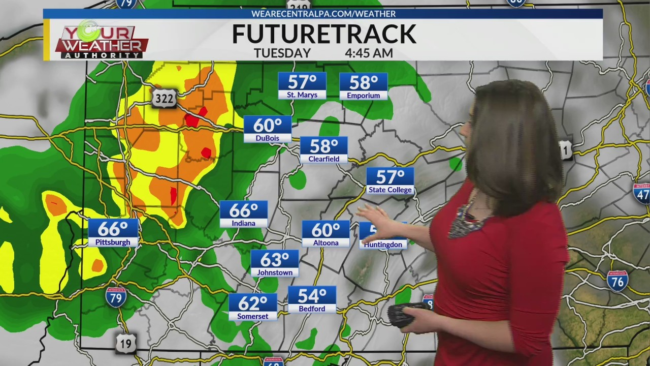 Midday Forecast, Monday May 27, 2019