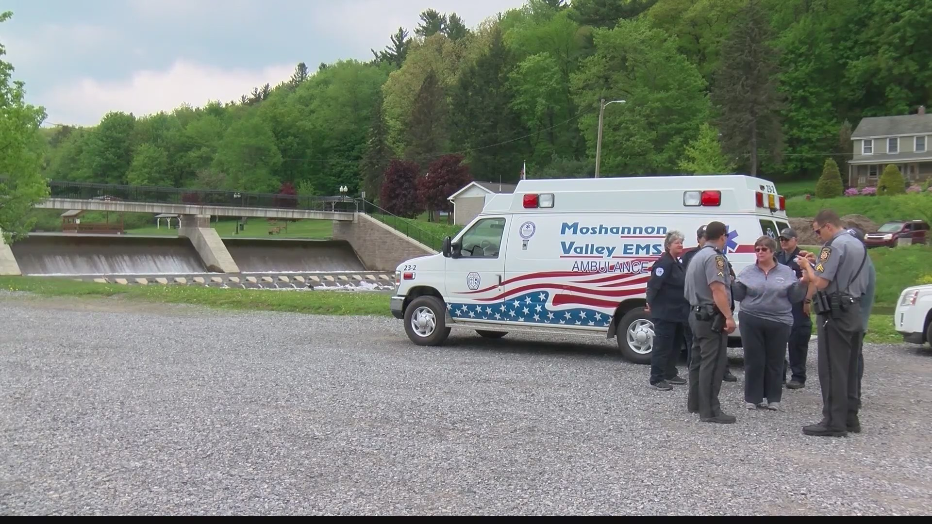 Report: Man who fell in Cold Stream Dam is dead... here's what we know