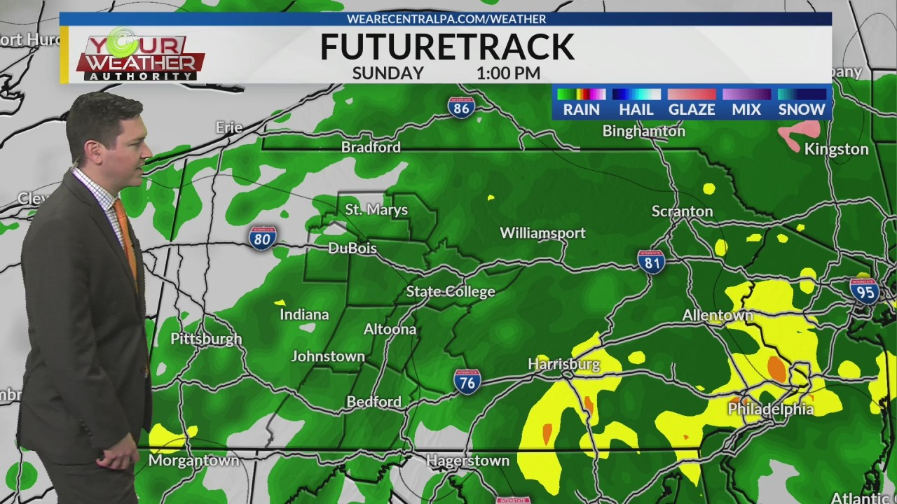 Saturday Night Weather Forecast, May 11th, 2019