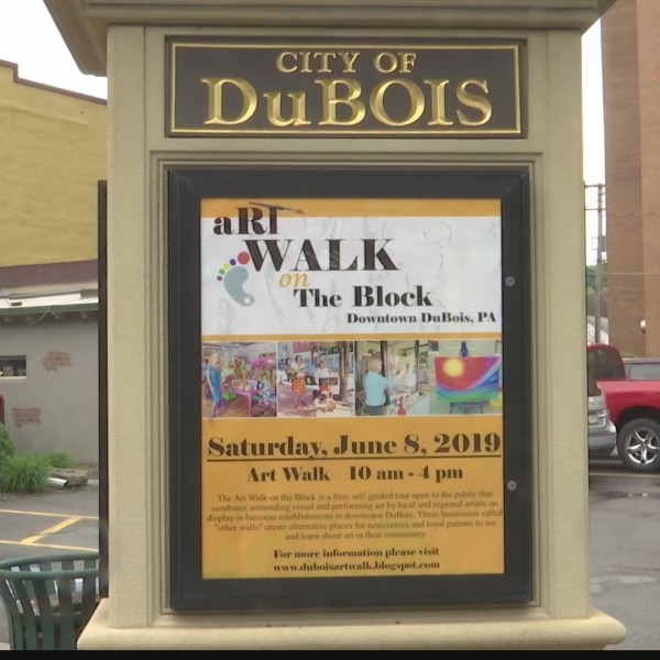 Annual Dubois Art Walk on the Block