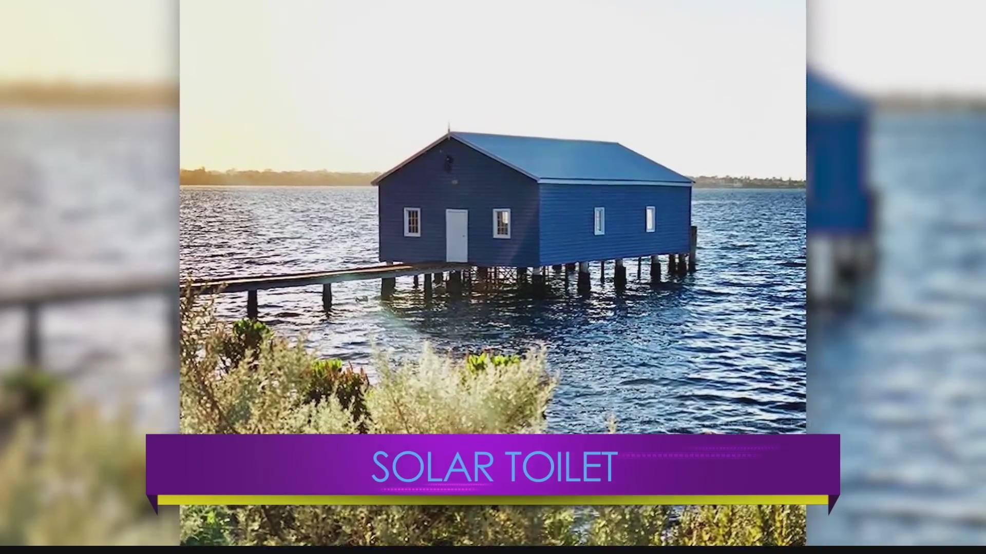 Central PA Live Solar Toilet