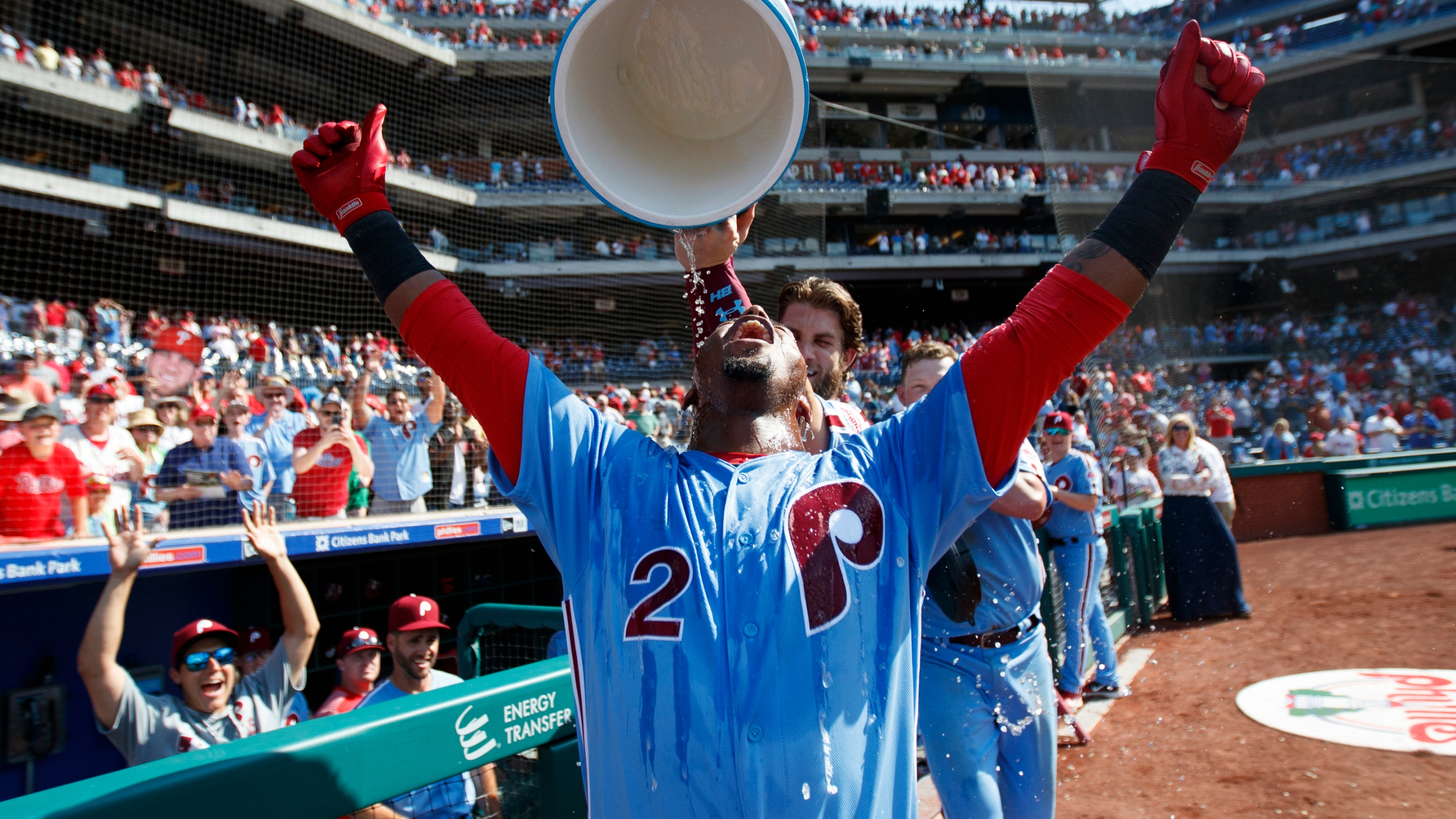Bamboozled Segura S 3 Run Hr Lifts Phillies Over Mets 6 3