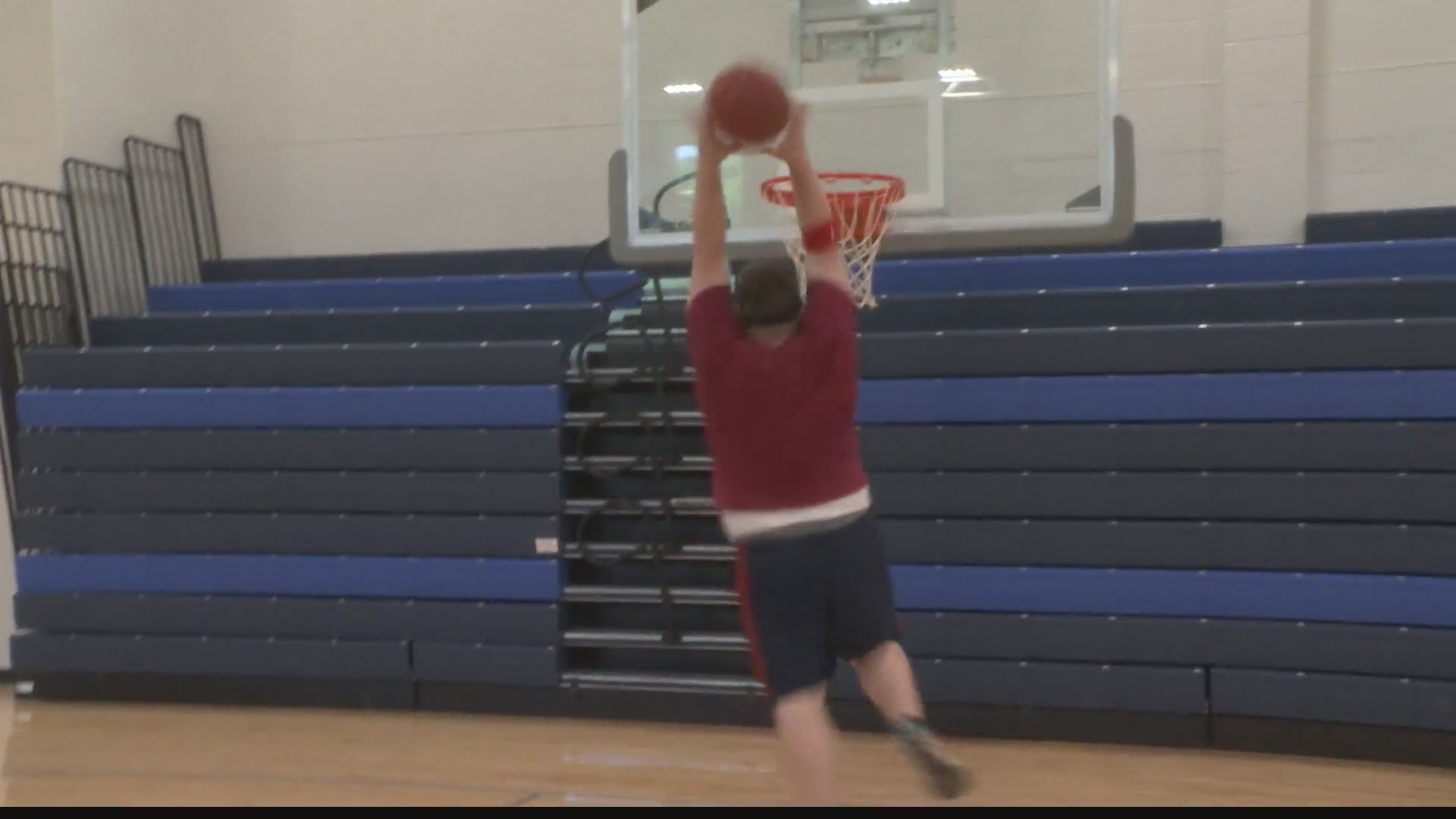 PSU Altoona Dunk Contest: Jordan vs K.C.